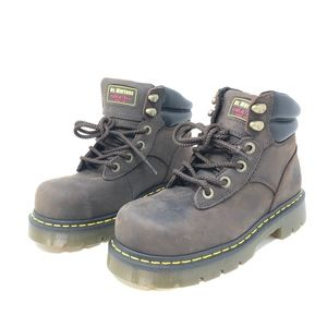 Dr Doc Martens Industrial Steel Toe Safety Boots